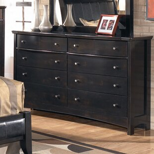 Best Price Cruise 6 Drawer Double Dresser by Charlton Home