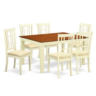 Darby Home Co Bellanger 7 Piece Dining Set