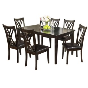 Normandie 7 Piece Dining Set by Hokku Des..