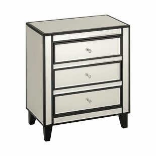 Boulevard 3 Drawer Chest Of Drawers By Rosdorf Park