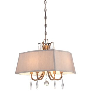 House of Hampton Heuer 4-Light Pendant