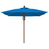Sanders 7.5 Solid Square Market Umbrella