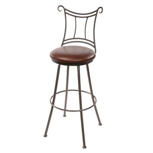 Chunn 30 Swivel Bar Stool Fleur De Lis Living