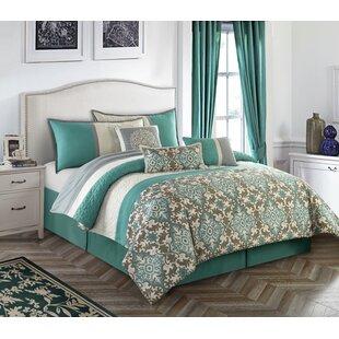 Nanshing America, Inc Reina 7 Piece Comforter Set