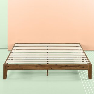 Wendy Wood Platform Bed by Union Rustic