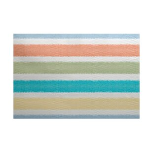 Golden Gate Orange/Blue/Green Indoor/Outdoor Area Rug By Beachcrest Home