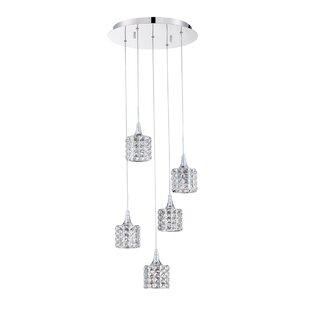 Kendal Lighting Lustra 5-Light Pendant