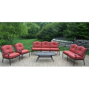 Berkley 5 Piece Sofa Set with Cushions by Oakland Living
