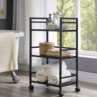 . Narrow Rolling Bathroom Cart   Wayfair