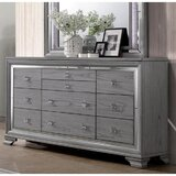 Martucci 10 Drawer Dresser by House of Hampton®