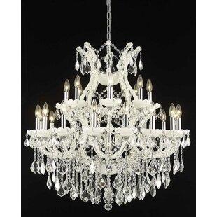 House of Hampton Regina 24-Light Candle Style Chandelier