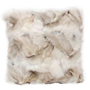 Nathanson Faux Fur Throw Pillow