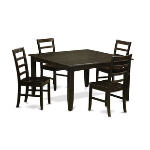 Tamarack 5 Piece Dining Set Red Barrel Studio