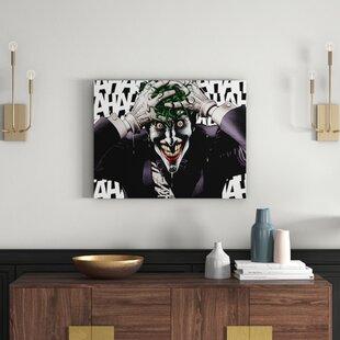 f8a904c43c24 Batman - The Joker Killing Joke Graphic Art Print on Canvas