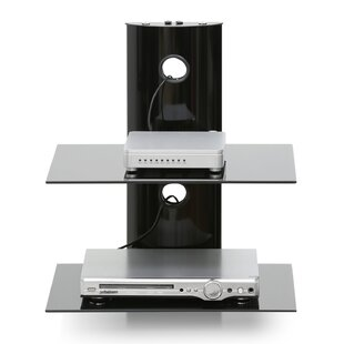 Hobbs Modern Floating Wall Shelf for Media Accessories