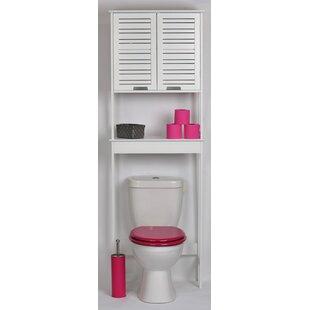 Miami 24.8 W x 70.5 H Over the Toilet Storage