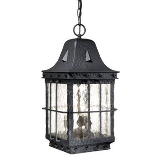 Brough 3-Light Outdoor Hanging Lantern