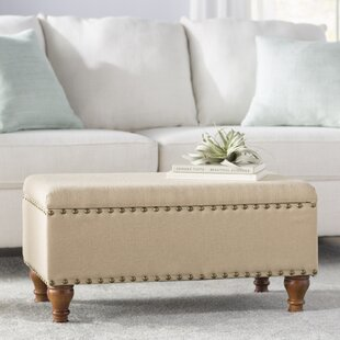 Oakford Upholstered Storage Bench Alcott Hill