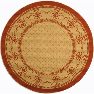 Amaryllis Natural/Terracotta Indoor/Outdoor Area Rug