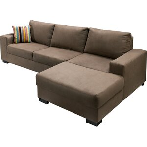 Ecksofa Bush mit Bettfunktion von Red Barrel Studio