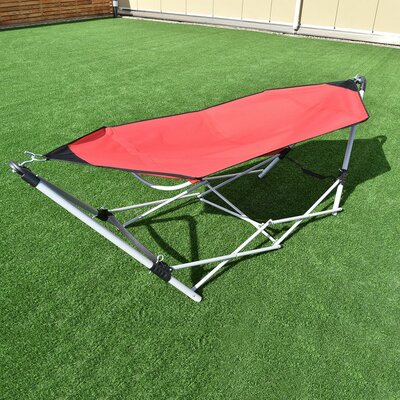 Avondale Portable Folding Steel Frame Camping Hammock With Stand by Freeport Park Amazing