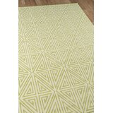 Halliday Lime Green Indoor/Outdoor Area Rug