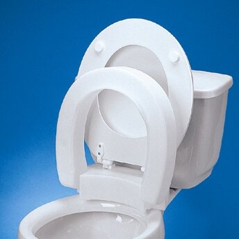 bemis raised toilet seat. Elongated Hinged Raised Toilet Seat Maddak  Reviews Wayfair