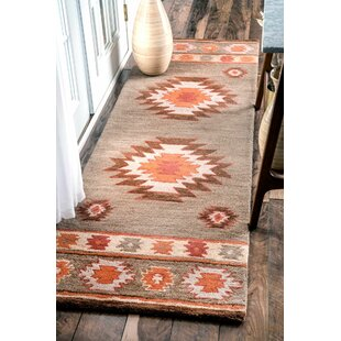 Claghorn Hand-Tufted Gray Area Rug by Loon Peak