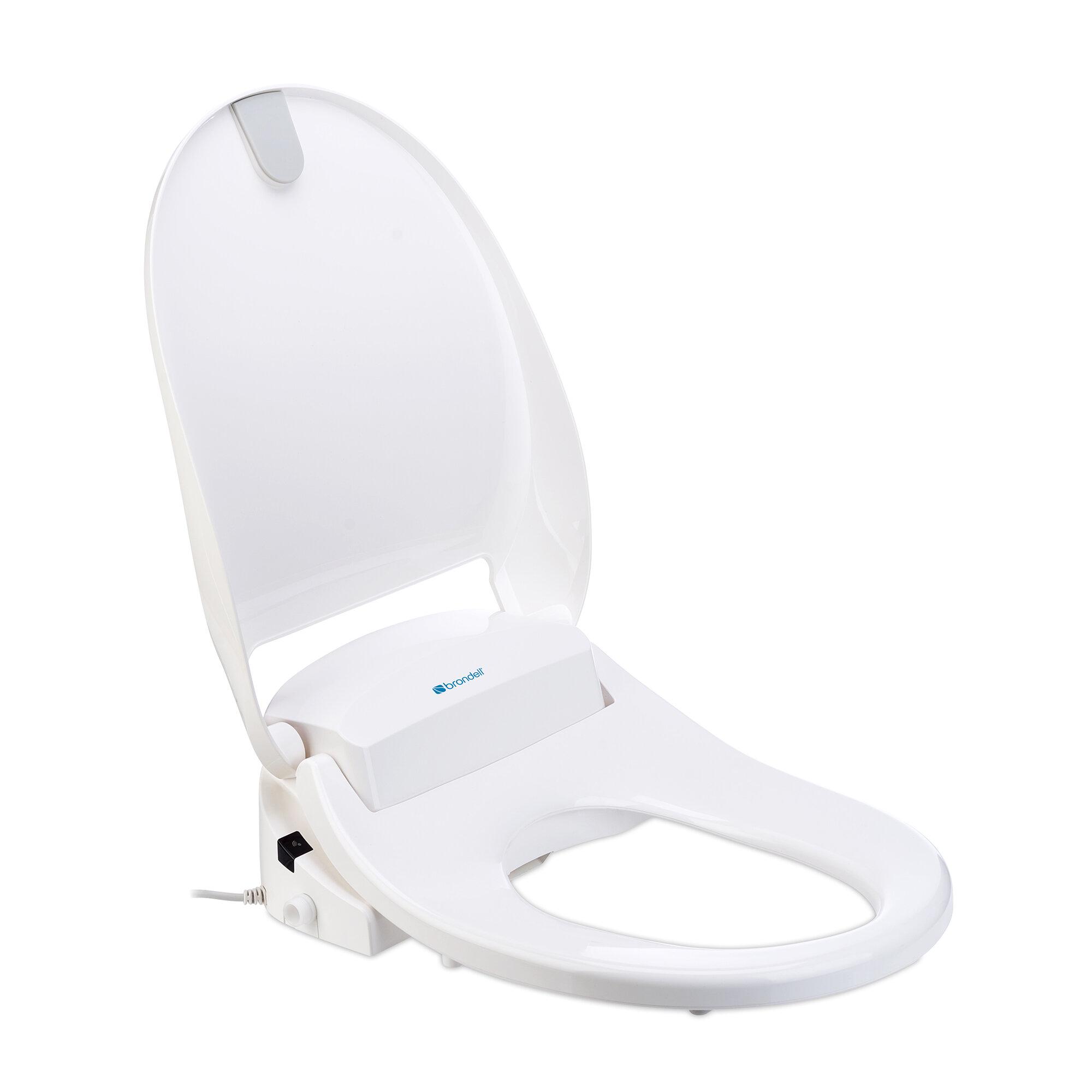 Brondell Swash 300 Elongated Bidet Toilet Seat Bidet Reviews Wayfair