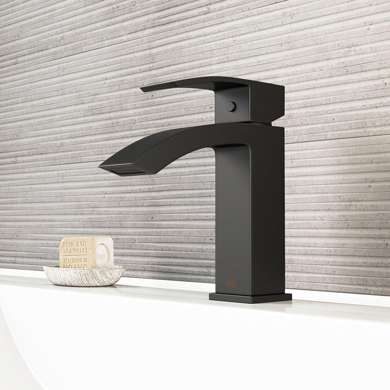 Matte Black Bathroom Sink Faucets You Ll Love In 2020 Wayfair