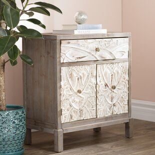 World Menagerie Morford 1 Drawer 2 Door Cabinet