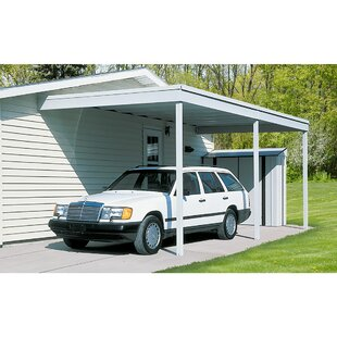 Attached Carport/Patio Cover Patio Awning  sc 1 st  Wayfair & Awnings Youu0027ll Love | Wayfair