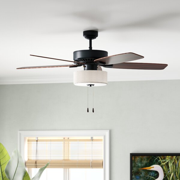 Drum Ceiling Fan With Light Wayfair
