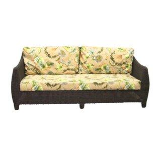 Padmas Plantation Outdoor Bay Harbor Sofa with Cushions