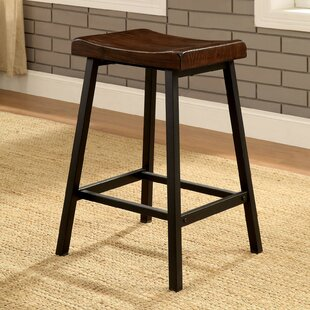 Landes Bar Stool (Set of 2) by Gracie Oaks
