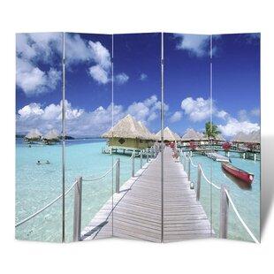 Strand 5 Panel Room Divider by Ebern Designs
