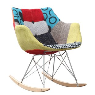Ginger Rocking Chair by Fine Mod Imports