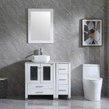 Dezmarie 60 Single Bathroom Vanity Set with Mirror by Latitude Run