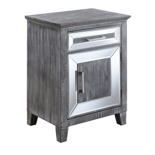 House of Hampton Claybrooks 1 Drawer Accent Cabinet