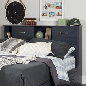 Shelf Headboard bookcase headboards you'll love | wayfair