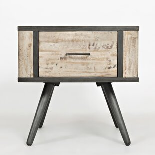 Shirlee End Table by Union Rustic