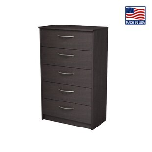Karis 5 Drawer Chest Zipcode Design