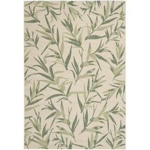 Higgs Beige/Green Indoor/Outdoor Area Rug