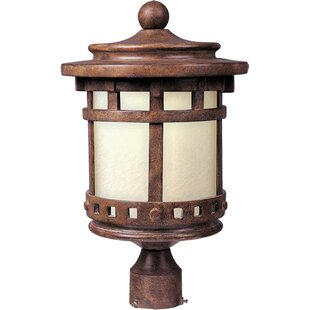 Affordable Price Casimir 1-Light Outdoor Post Light By Loon Peak