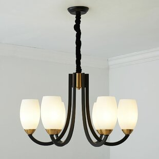 Georgette 6-Light Shaded Chandelier by Ivy Bronx