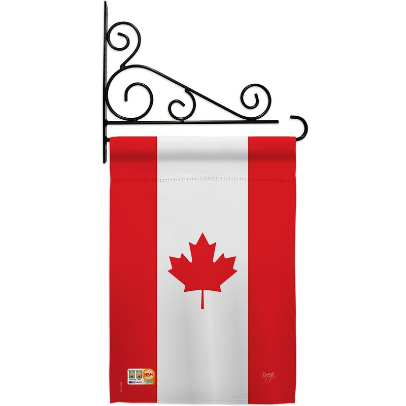 Breeze Decor 2 Sided Polyester 19 X 13 In Flag Set Wayfair