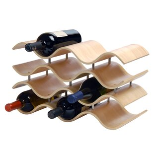 Wade Logan Wittmer 10 Bottle Tabletop Wine Rack
