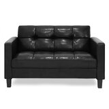 "Tuskegee 54.13"" Square Arm Loveseat"