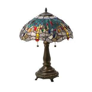 Best Price Hanginghead Dragonfly 22 Table Lamp By Meyda Tiffany