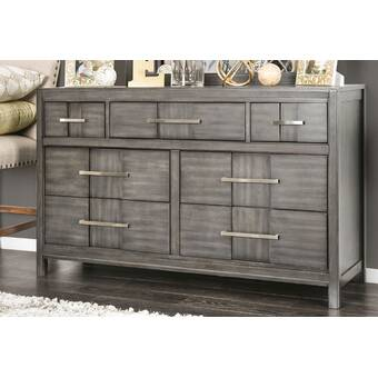 Gracie Oaks Anderson 8 Drawer Double Dresser Wayfair